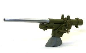 155mmカノン砲ロング・トム 砲架の組み立て