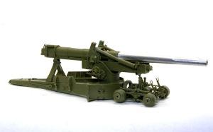 155mmカノン砲ロング・トム 砲架と台車