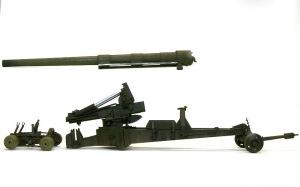 155mmカノン砲ロング・トム ウオッシング