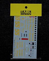 タブデザイン ハセガワ・ロータス78用デカール