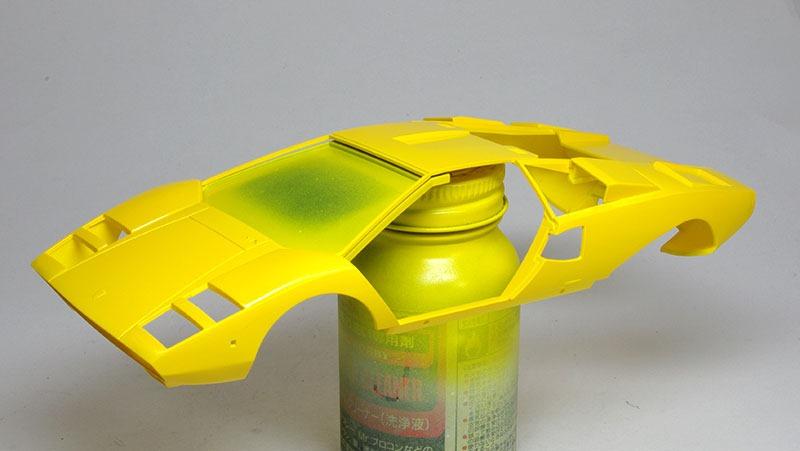 塗装 ランボルギーニ・カウンタックLP400