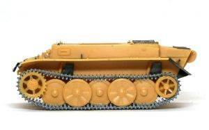 2号戦車L型ルクス 履帯の組立て