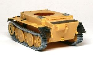 2号戦車L型ルクス 後部フェンダー