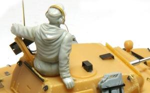 2号戦車L型ルクス フィギュアのフィッティング