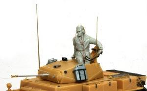 2号戦車L型ルクス アンテナと金属砲身
