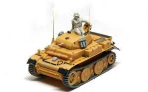 2号戦車L型ルクス 組立て完了