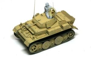 2号戦車L型ルクス 基本塗装