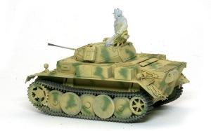 2号戦車L型ルクス 迷彩塗装
