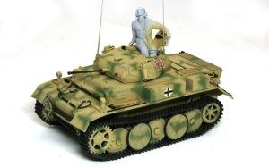 2号戦車L型ルクス 細部の塗分け