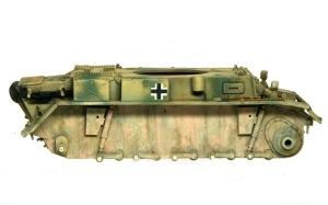 2号戦車L型ルクス 別の色でさらに汚れを追加