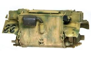 2号戦車L型ルクス 泥はねを再現