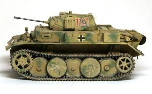 2号戦車L型ルクス 足まわりの汚し