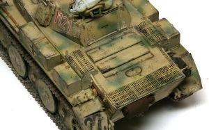 2号戦車L型ルクス チッピング