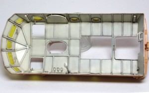 LWS後期型 キャビン内壁のウオッシング