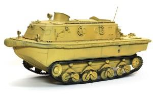 LWS後期型 履帯の塗装