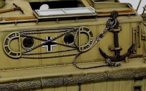 LWS後期型 錨とロープ