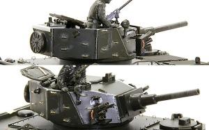 M113A1ファイヤー・サポート 砲塔の組み立て