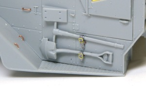 M16多連装銃搭載車 OVMの取り付け