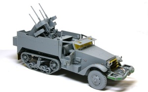 M16多連装銃搭載車 組み立て完了