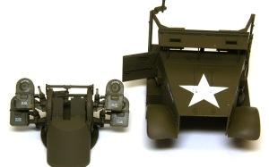 M16多連装銃搭載車 クリアコート