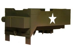 M16多連装銃搭載車 汚し塗装