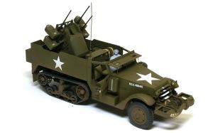 M16多連装銃搭載車 塗装完了