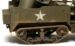 M16多連装銃搭載車 ピグメントとチッピング