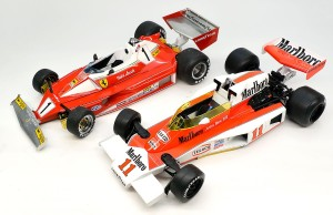マクラーレン・M23とフェラーリ・312T2