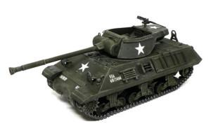 M36ジャクソン駆逐戦車 ウオッシング、ドライブラシ、デカール貼り