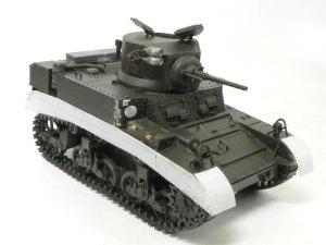 M3スチュアート 砲塔の改造