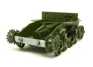 M3A1スチュアート シャーシと足まわりの組立て