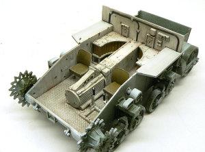 M3A1スチュアート インテリアの仕上げ
