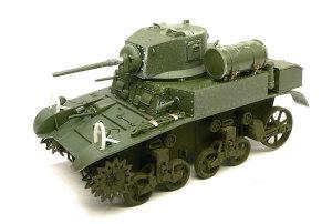 M3A1スチュアート 組立て完了