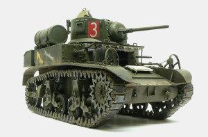 M3A1スチュアート 履帯の塗装と取り付け