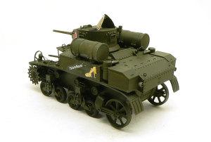 M3A1スチュアート 塗装とデカール貼り