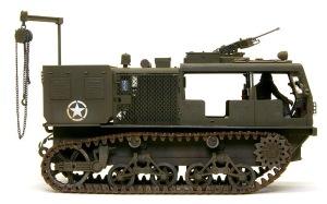 M4ハイスピード・トラクター 汚し