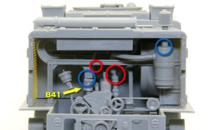 M4ハイスピード・トラクター パイプの接続