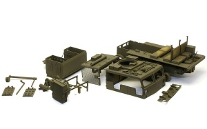M4ハイスピード・トラクター 塗装