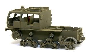M4ハイスピード・トラクター  細部の塗分け