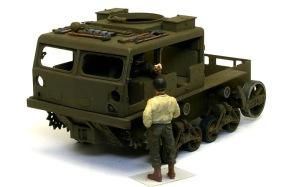 M4ハイスピード・トラクター OVMの塗分け