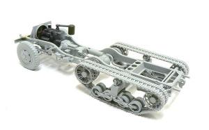 M4 88mm自走迫撃砲 シャーシと足まわり