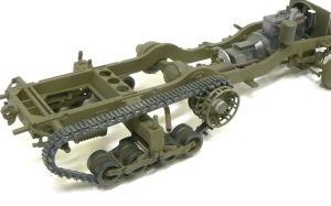 M4 88mm自走迫撃砲 履帯の組み立て その2
