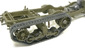 M4 88mm自走迫撃砲 履帯の組み立て その3