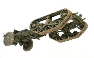 M4 88mm自走迫撃砲 車体下部の汚し
