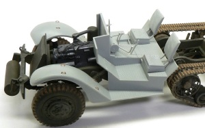 M4 88mm自走迫撃砲 運転席の床