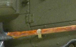 M4 88mm自走迫撃砲 OVMの取り付け