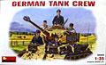 ドイツ・戦車兵セット 1/35 ミニアート