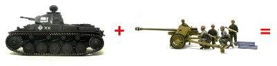 2号戦車 + 7.5cmPak40 = マーダー2