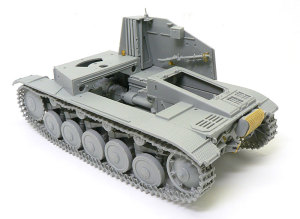 対戦車自走砲マーダー2 車体と戦闘室右側の組立て