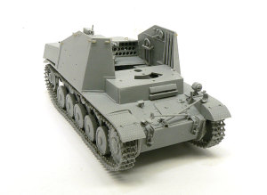 対戦車自走砲マーダー2 戦闘室左側の組立て